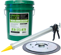 Green Glue is available in 5 Gallon Pails