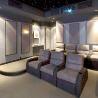 Commercial Acoustical Wall Panels Home Theater
